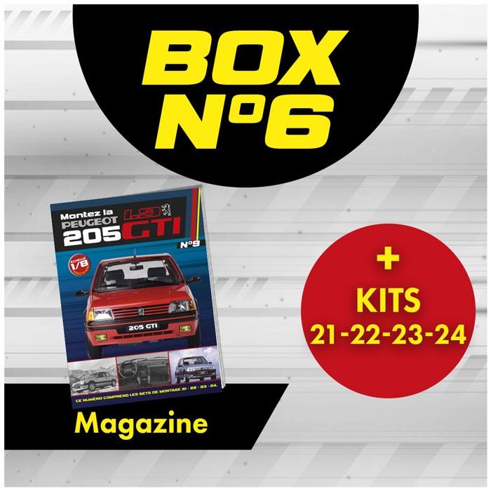 Peugeot 205 GTi BOX 6