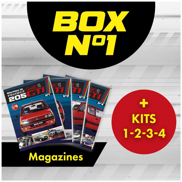 Peugeot 205 GTi BOX 1 from issue 1
