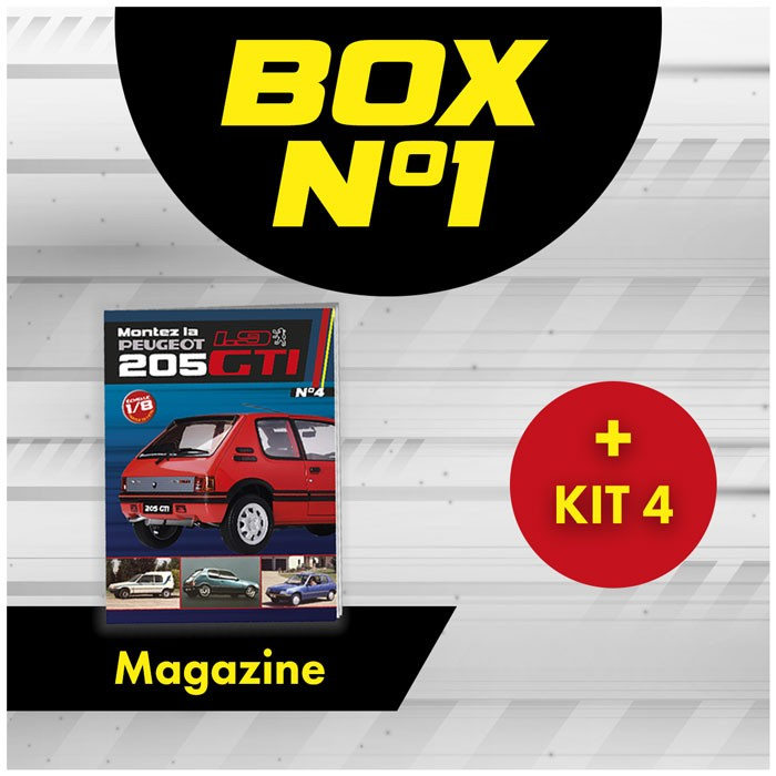 Peugeot 205 GTi BOX 1 FROM ISSUE 4