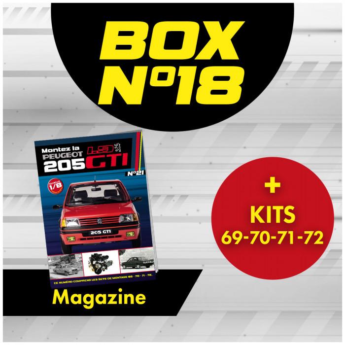 copy of Peugeot 205 GTi BOX 18