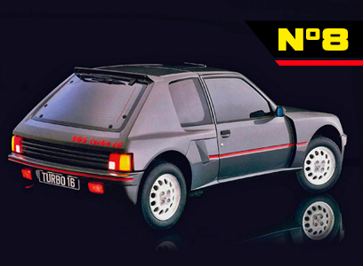 Der Peugeot 205 Turbo 16