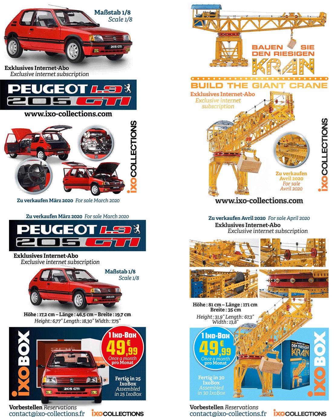 205 GTI 1.9 au 1/8eme - Page 2 Products